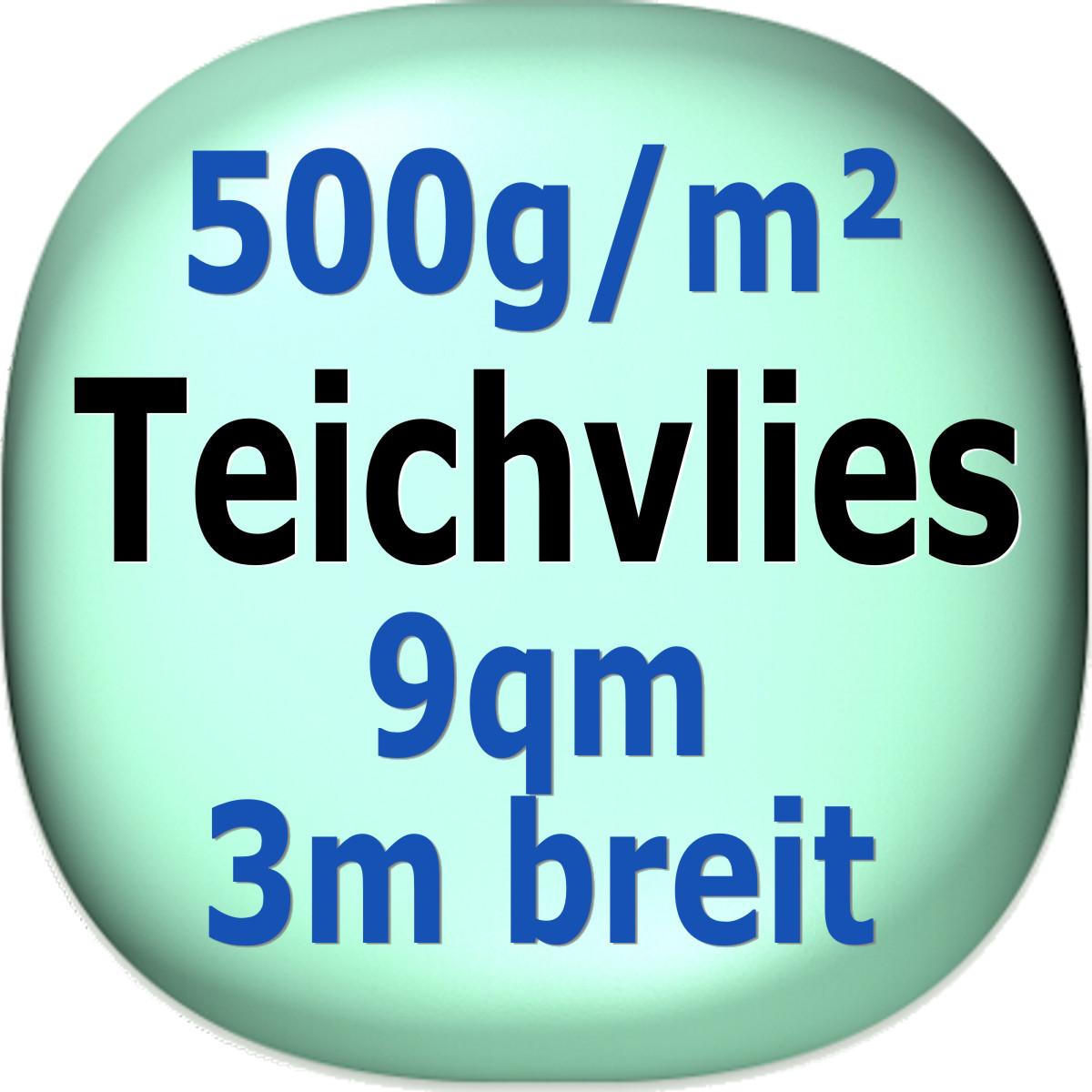 Teichvlies-500g-qm-9qm-in-3m-Breite-Teich-Vlies